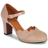kengät Naiset Korkokengät Chie Mihara SELA Pink / Beige