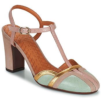 kengät Naiset Korkokengät Chie Mihara INMA Beige / Vaaleanpunainen / Kulta