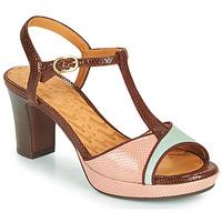 kengät Naiset Sandaalit ja avokkaat Chie Mihara NATI Ruskea / Vaaleanpunainen / Vihreä