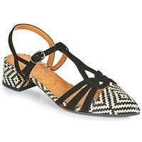 kengät Naiset Korkokengät Chie Mihara ROSALI Musta / Beige