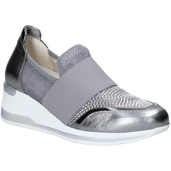 kengät Naiset Tennarit Melluso R20413 Hopea