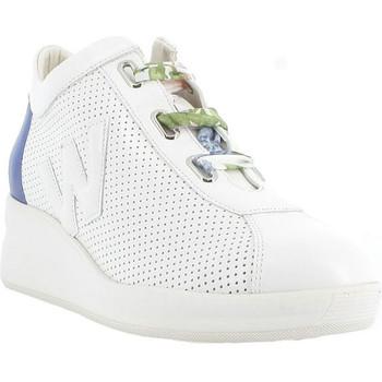 kengät Naiset Matalavartiset tennarit Melluso R20220 Valkoinen