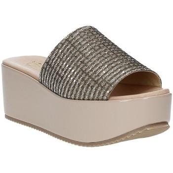 kengät Naiset Sandaalit Grace Shoes MILY Beige