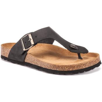 kengät Miehet Varvassandaalit Lumberjack SM45006 001 D05 Musta