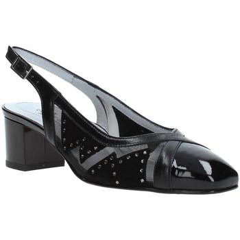 kengät Naiset Korkokengät Soffice Sogno E9330 Musta