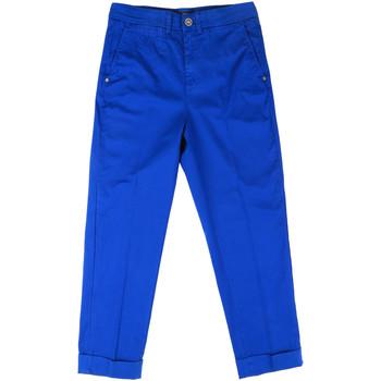 vaatteet Naiset Chino-housut / Porkkanahousut Fornarina BE171L73G29112 Sininen