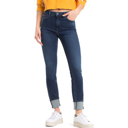 vaatteet Naiset Skinny-farkut Tommy Hilfiger DW0DW04721 Sininen