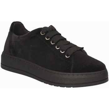 kengät Naiset Matalavartiset tennarit Grunland SC3670 Musta