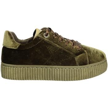 kengät Naiset Matalavartiset tennarit Pluspartout AFRODITE Vihreä