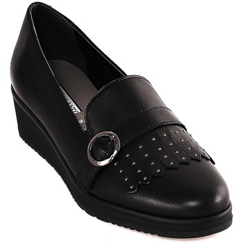 kengät Naiset Mokkasiinit Grunland SC3141 Musta