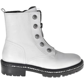 kengät Naiset Bootsit Elvio Zanon I6507G Valkoinen