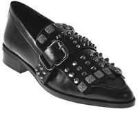 kengät Naiset Mokkasiinit Elvio Zanon I7704G Musta