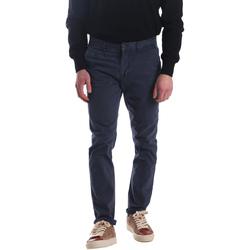vaatteet Miehet Chino-housut / Porkkanahousut Automatic PAU22172 Sininen