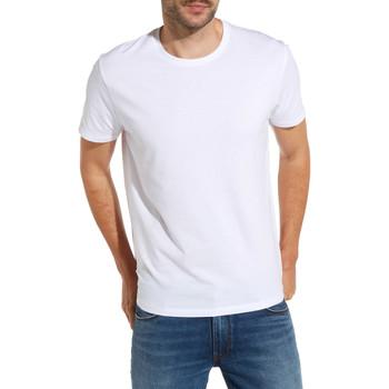 vaatteet Miehet Lyhythihainen t-paita Wrangler W7500F Valkoinen