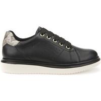 kengät Lapset Derby-kengät Geox J744FA 000BC Musta