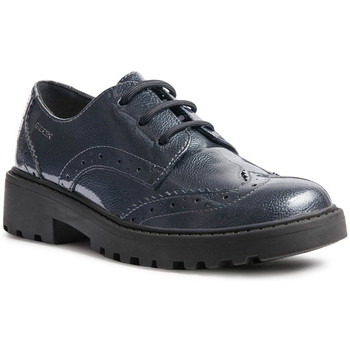 kengät Pojat Derby-kengät Geox J6420N 000HI Sininen