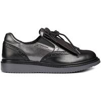kengät Tytöt Mokkasiinit Geox J844FE 054AJ Musta