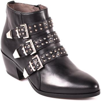 kengät Naiset Nilkkurit Nero Giardini A806503D Musta