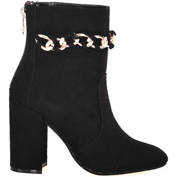kengät Naiset Nilkkurit Gattinoni PINOD0784W Musta