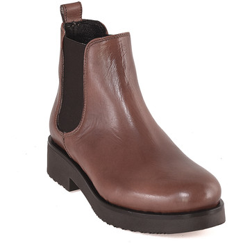 kengät Naiset Nilkkurit Mally 5535 Ruskea