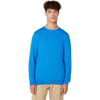vaatteet Miehet Neulepusero Wrangler W8A0PDXKL Sininen