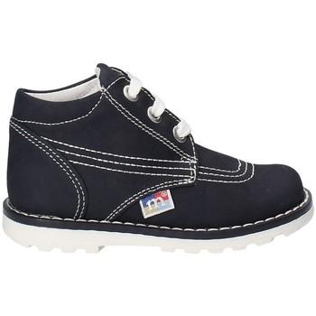 kengät Lapset Korkeavartiset tennarit Melania ME1010B8E.D Sininen