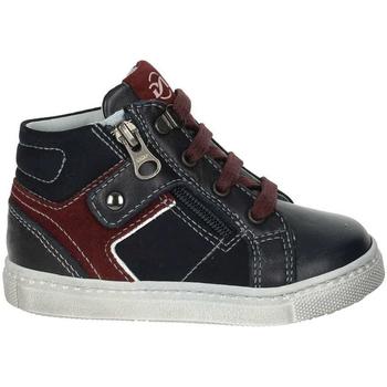 kengät Lapset Korkeavartiset tennarit NeroGiardini A823210M Sininen