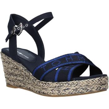 kengät Naiset Sandaalit ja avokkaat Tommy Hilfiger FW0FW04751 Sininen
