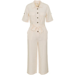 vaatteet Naiset Jumpsuits / Haalarit Pepe jeans PL230301 Beige