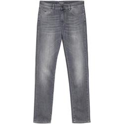vaatteet Miehet Slim-farkut NeroGiardini E070610U Harmaa