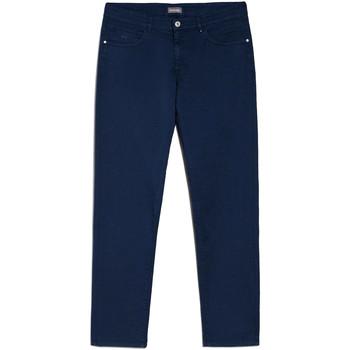 vaatteet Miehet Chino-housut / Porkkanahousut NeroGiardini E070630U Sininen