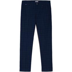 vaatteet Miehet Chino-housut / Porkkanahousut NeroGiardini E070682U Sininen
