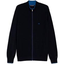 vaatteet Miehet Neuleet / Villatakit NeroGiardini E074560U Sininen