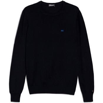 vaatteet Miehet Neulepusero NeroGiardini E074580U Sininen