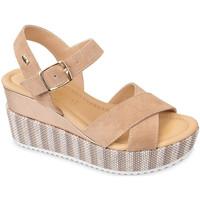 kengät Naiset Sandaalit ja avokkaat Valleverde 32435 Beige
