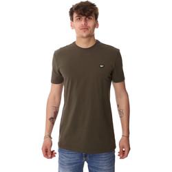 vaatteet Miehet Lyhythihainen t-paita Antony Morato MMKS01737 FA120022 Vihreä