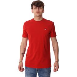 vaatteet Miehet Lyhythihainen t-paita Antony Morato MMKS01737 FA120022 Punainen