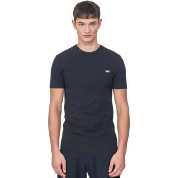 vaatteet Miehet Lyhythihainen t-paita Antony Morato MMKS01737 FA120022 Sininen