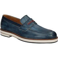 kengät Miehet Mokkasiinit Exton 605 Sininen