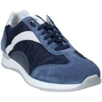 kengät Miehet Matalavartiset tennarit Exton 661 Sininen