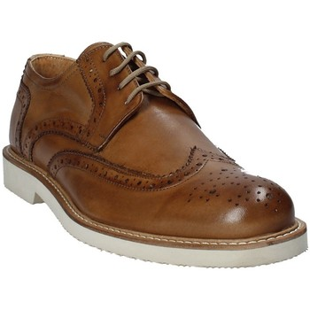 kengät Miehet Derby-kengät Exton 9190 Ruskea