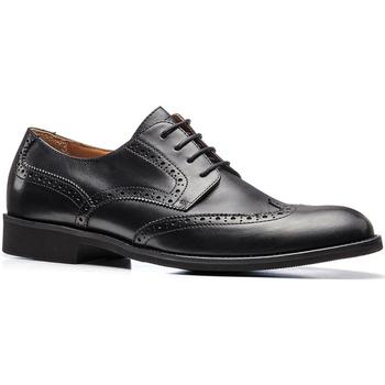 kengät Miehet Derby-kengät Stonefly 110769 Musta