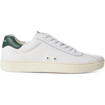 kengät Miehet Matalavartiset tennarit Polo Sport 809735368002 Valkoinen