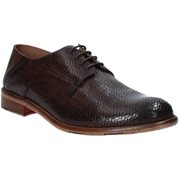 kengät Miehet Derby-kengät Exton 3102 Ruskea