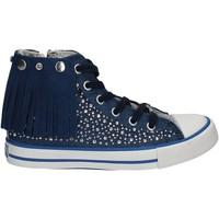 kengät Lapset Korkeavartiset tennarit Lulu LV010074T Sininen