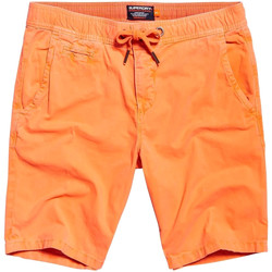vaatteet Miehet Uima-asut / Uimashortsit Superdry M71011GT Oranssi
