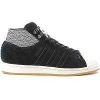 kengät Miehet Korkeavartiset tennarit adidas Originals AQ8159 Musta