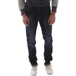 vaatteet Miehet Slim-farkut Gas 351144 Sininen