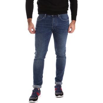 vaatteet Miehet Skinny-farkut Gas 351276 Sininen