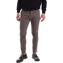 vaatteet Miehet Chino-housut / Porkkanahousut Gaudi 62FU20017 Ruskea